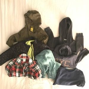Other - LOT-  7 PIECES Toddler Boys 18-24 Fall/Winter Tops